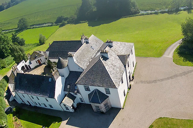 Logie Country House Grounds, Wedding Venues Scotland