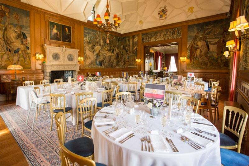 Fyvie Castle Reception Wedding Venues Scotland