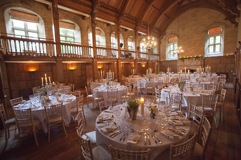 Achnagairn Castle Reception, Wedding Venues Scotland