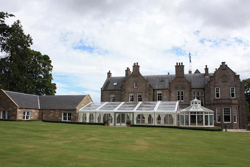 Self catering country house wedding venues scotland