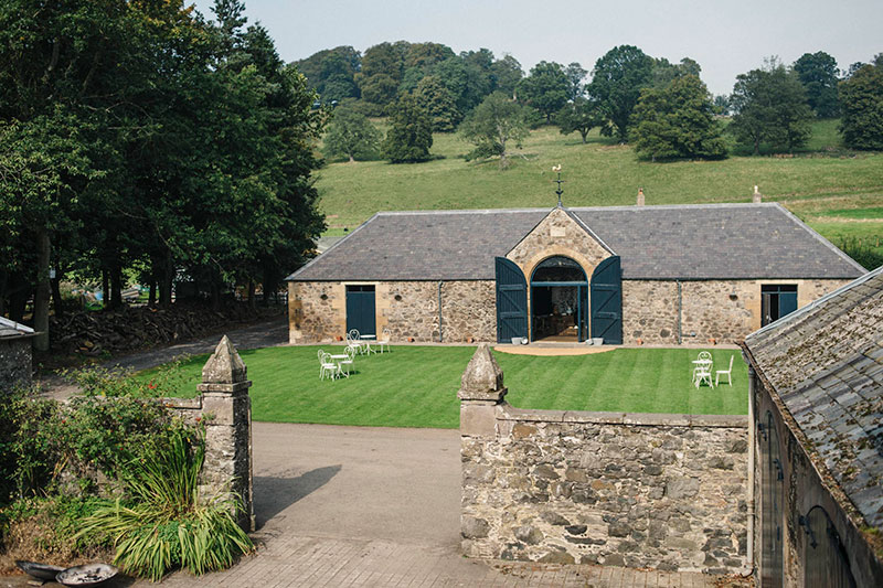the byre at inchyra 10 reasons to choose this wedding venue