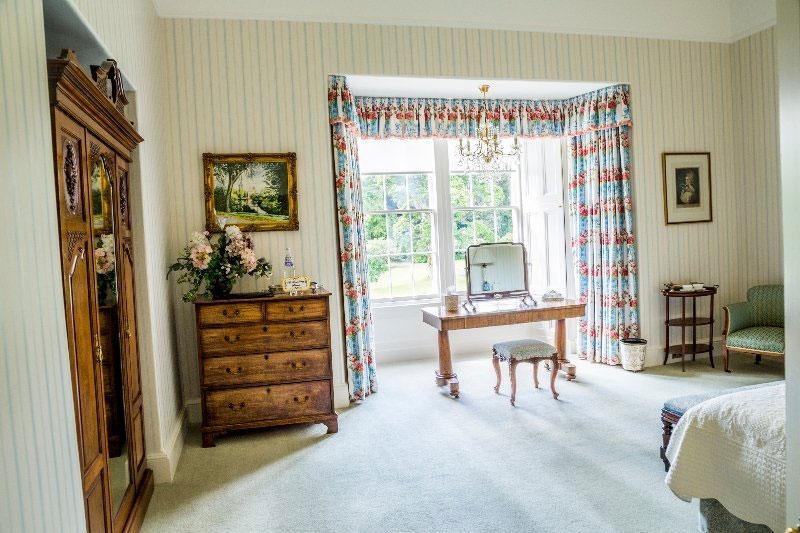 Guthrie Castle Bridal Suite, Wedding Venues Scotland