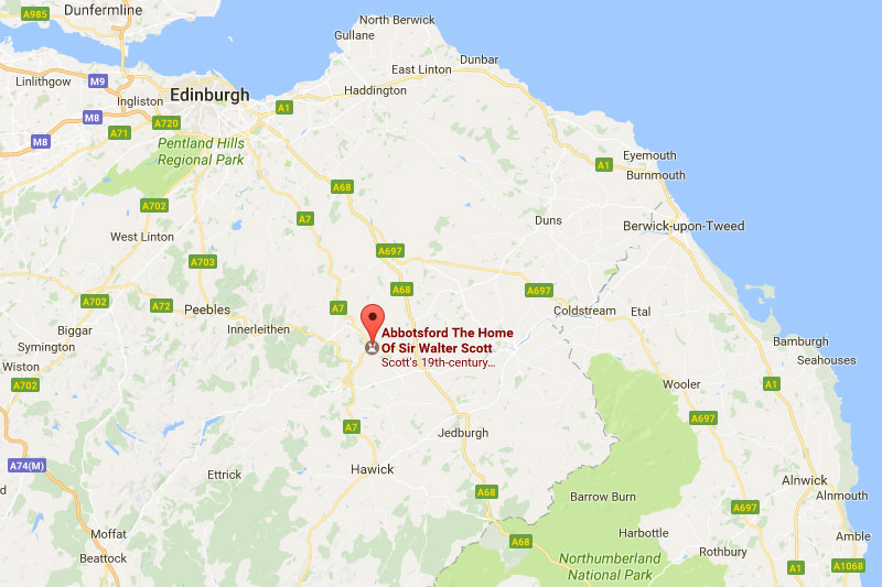 Abbotsford House Location Wedding Venues In The Scottish Borders