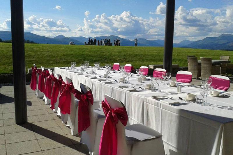 Ardoch Outdoor Reception Wedding Venues Scotland