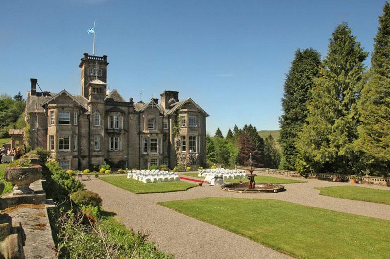 Auchen Castle Castle, Wedding Venues Scotland