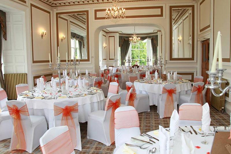 Auchen Castle Reception, Wedding Venues Scotland