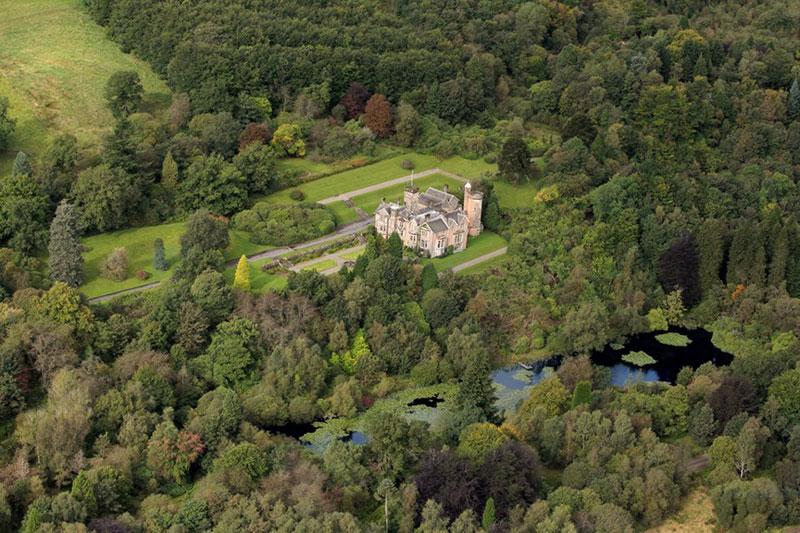 Auchen Castle Setting, Wedding Venues Scotland