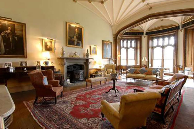 Duns Castle Setting, Wedding Venues Scotland - White Rose