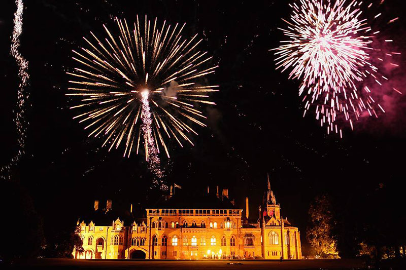 Mount Stuart Fireworks, Wedding Venues Scotland
