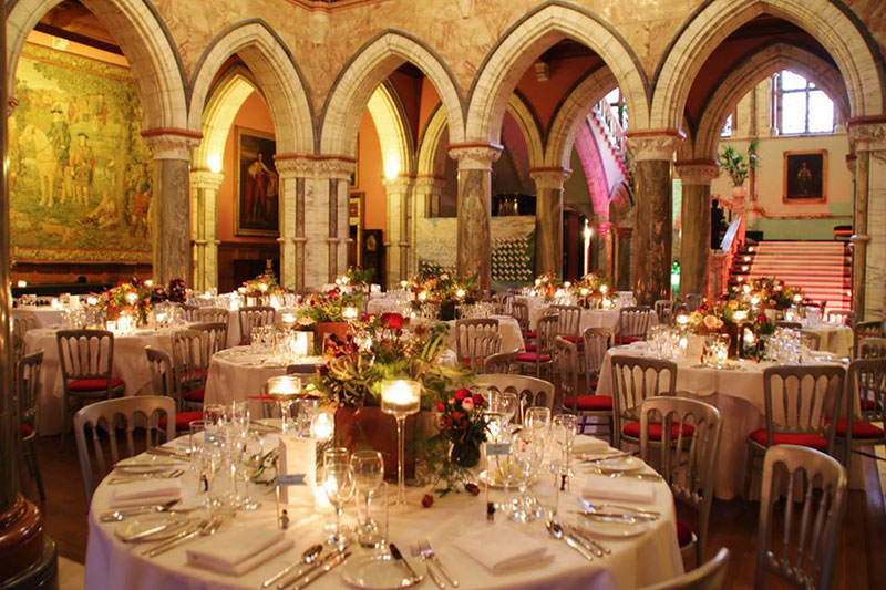 Mount Stuart Reception, Wedding Venues Scotland