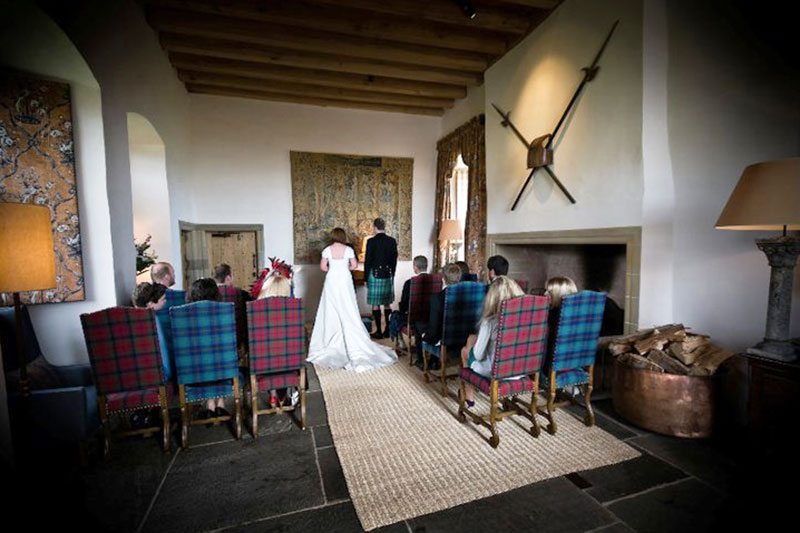 Fenton Tower Ceremony, Wedding Venues Scotland