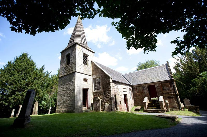 Glencorse House, Glencorse Old Kirk, Ceremony, Wedding Venues Scotland