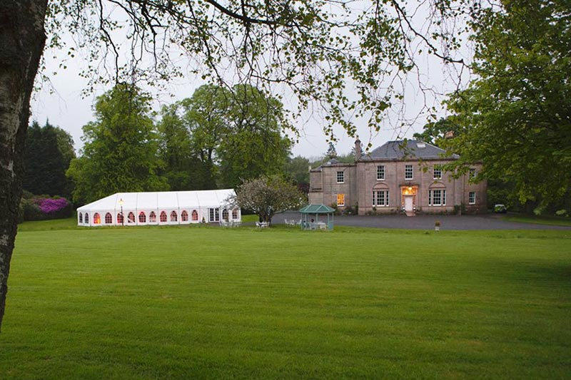 Glencorse House, Wedding Venues Scotland