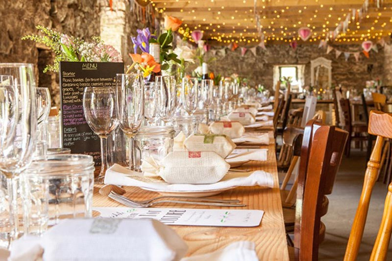 Windmill Barn Setting Wedding Venues Scotland
