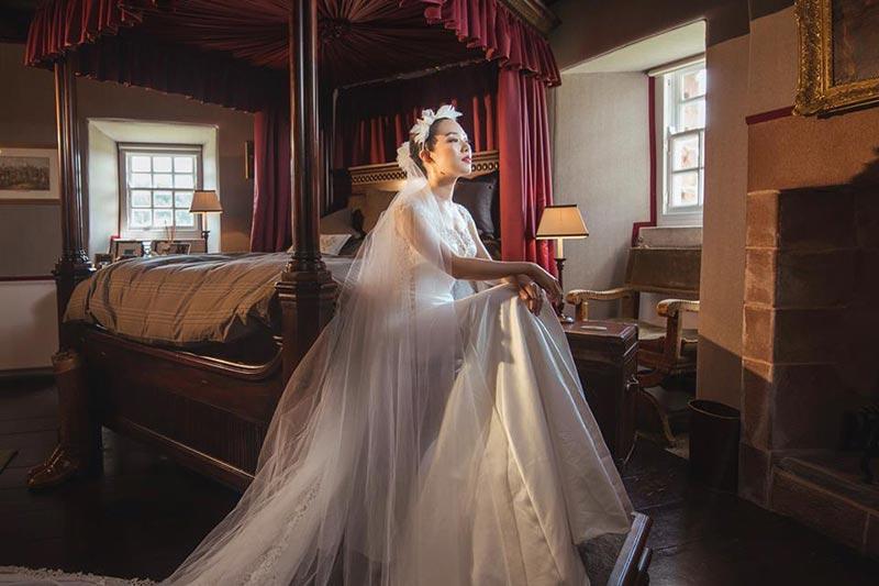 Forter Castle Wedding Photos, Wedding Venues Scotland