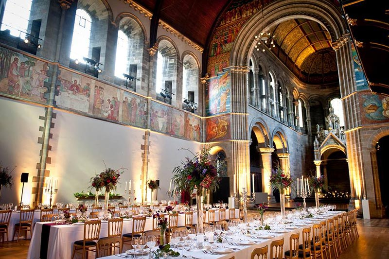 Mansfield Traquair Catering, Wedding Venues Scotland