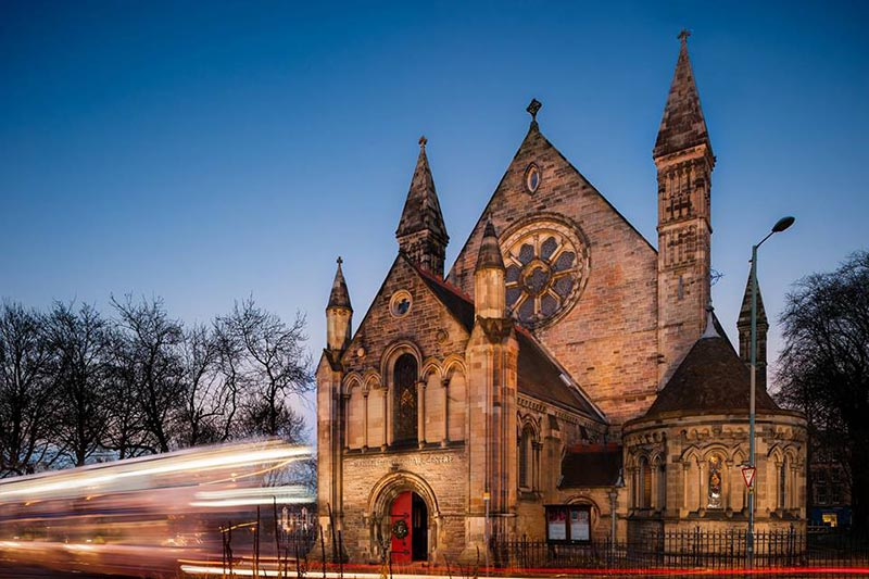 Mansfield Traquair Centre, Wedding Venues Scotland