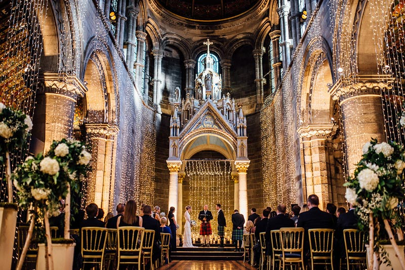 Mansfield Traquair Ceremony, Wedding Venues Scotland