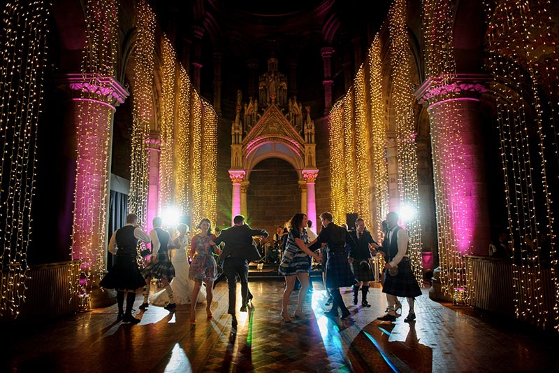 Mansfield Traquair Entertainment, Wedding Venues Scotland