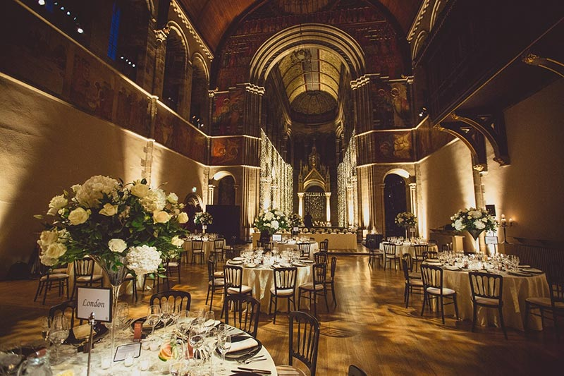 Mansfield Traquair Reception, Wedding Venues Scotland