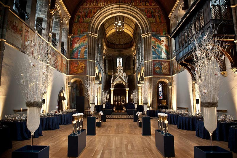 Mansfield Traquair Setting, Wedding Venues Scotland