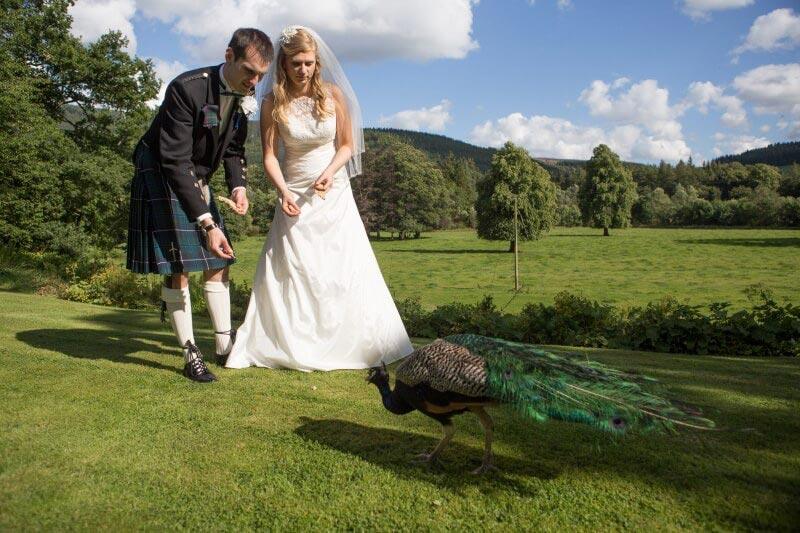 Traquair House Wedding Photos, Wedding Venues Scotland