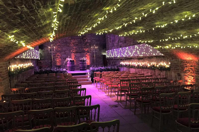 The Caves Edinburgh Ceremony Wedding Venues Scotland