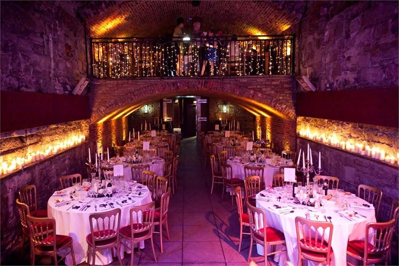 The Caves Edinburgh Conclusion Wedding Venues Scotland