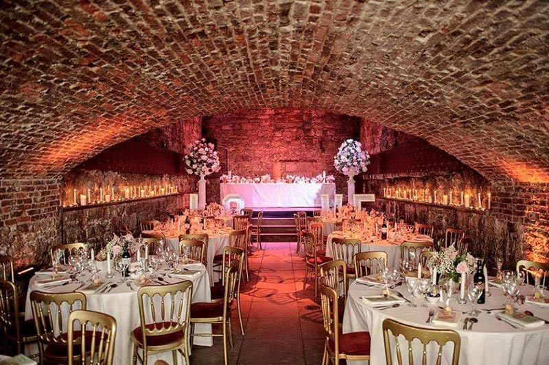 The Caves Edinburgh Reception Wedding Venues Scotland