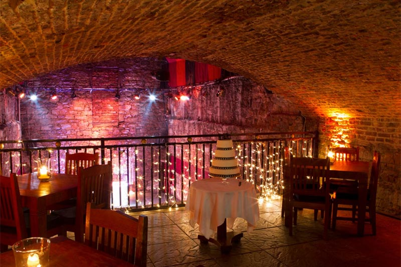 The Caves Edinburgh Setting Wedding Venues Scotland