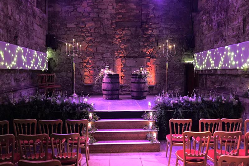 The Caves Edinburgh Wedding Prices