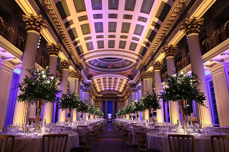 The Signet Library Winter Wedding Package Venues Scotland