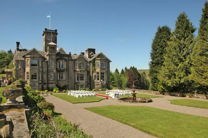 Auchen Castle Wedding Venues Scotland