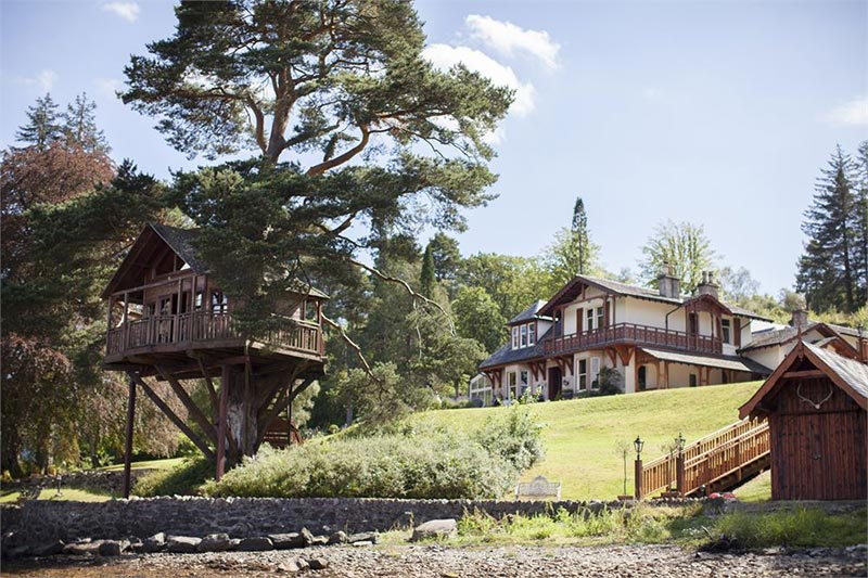 The Lodge On Loch Goil, Wedding Venues Scotland
